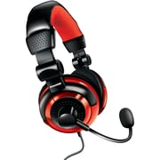 Dreamgear Dgun-2571 Universal Elite Wired Headset (red)