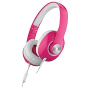 Ihome Ib36pwc Over-ear Stereo Headphones With Microphone (white/pink)