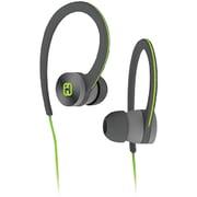 Ihome Ib28gqc Over-ear Sport Headphones (gray/green)