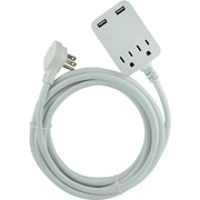 General Electric 32089 Usb Extension Cord With Surge Protection, 12ft