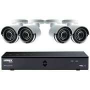 Lorex By Flir Lha41081tc4b 8-channel Mpx Hd 1tb Dvr With 4 Weatherproof Ir Cameras