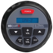 Mb Quart Gmr-2 Nautic Series Gmr In-dash Bluetooth-enabled Gauge-mount Radio (gmr-2)