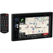 "Planet Audio Pnv9674 6.2"" Double-din In-dash Navigation Touchscreen Dvd Receiver With Bluetooth"