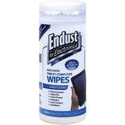 Endust 12596 Tablet Wipes, 70 Ct