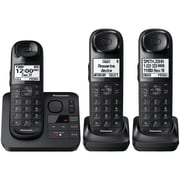 Panasonic Kx-tgl433b Expandable Cordless Phone System With Comfort Shoulder Grip (3-handset System)