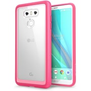 LG Cell Phone Case G6 Halo Clear/Pink (LGG6 HALO CL/PK)