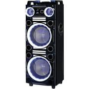 """Supersonic Iq-6210djbt Pro 2 X 10"""" Bluetooth Dj Speaker"""