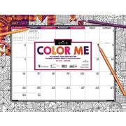 Hallmark 2018 Academic Year Color Me By Hallmark Desk Blotter (18-8018A)
