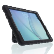 Gumdrop Cases Hideaway Stand for Samsung Galaxy Tab A 9 Rugged Tablet Case Shock Absorbing Cover Black/Black SM-T550
