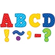 """Teacher Created Resources 3"""" Magnetic Letters, Playful Patterns Bold Block (TCR77310)"""