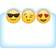 "Creative Teaching Press Emoji Fun Labels, 36 per pack, bundle of 6 packs, 3 1/2"" x 2 1/2"" (CTP4238)"