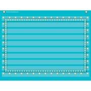 Teacher Created Resources 10 Pocket Pocket Chart, Light Blue Marquee (TCR20775)
