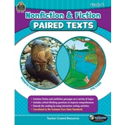 Nonfiction and Fiction Paired Texts Grade 6, Paperback (TCR3896)