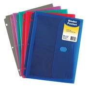 C-Line® Expanding File, 7-pocket, 6-tab, Letter Size, Assorted Colors, bundle of 4 (CLI58300)