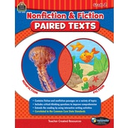 Nonfiction and Fiction Paired Texts Grade 2, Paperback (TCR3892)