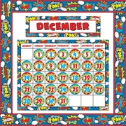 Teacher Created Resources Superhero Calendar Set, 49/Set (TCR9540)