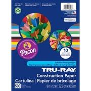 Tru Ray Construction Paper 9X12 Bulk Assortment (PAC6588)
