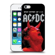 Official Ac/Dc Acdc Album Art Stiff Upper Lip Live Soft Gel Case For Apple Iphone 5 / 5S / Se