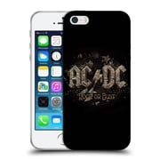Official Ac/Dc Acdc Album Art Rock Or Bust Bricks Soft Gel Case For Apple Iphone 5 / 5S / Se