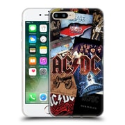 Official Ac/Dc Acdc Collage Album Art Soft Gel Case For Apple Iphone 7 Plus
