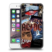 Official Ac/Dc Acdc Collage Album Art Hard Back Case For Apple Iphone 6 / 6S