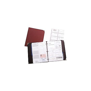 Rolodex® 200-Card Black Faux Leather Business Card Binder
