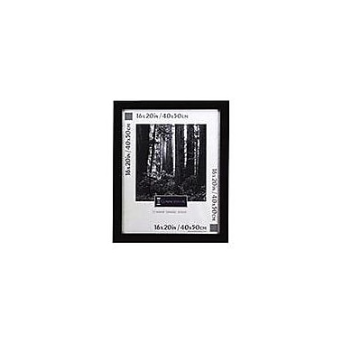 Black Wood Poster Frame with Plexiglass Window