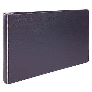 1in. Heavy-Duty 11in. x 17in. Round-Ring Binder w/Metal Hinges, Black