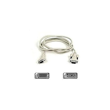 Belkin F2N025-25 25' VGA Monitor Extension Cable, White