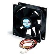 """StarTech 80mm Ball Bearing Computer Case Fan, 1""""H x 3 1/6""""W x 3 1/6""""D"""