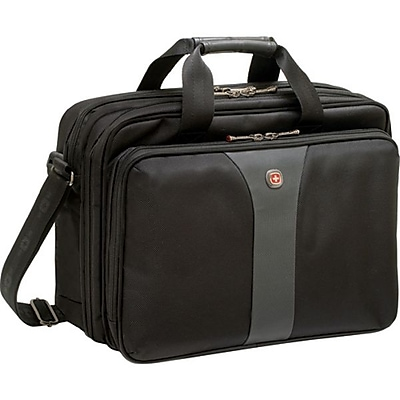 "SwissGear® WA-7652-14F00 Legacy Computer Case For 15.6"" Notebooks, Black"