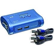 TRENDnet Q72566 2-Port USB KVM Switch Kit