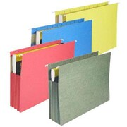 "Staples®  3 1/2"" Hanging File Pockets, Letter Size, 4/Box"
