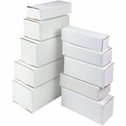 "Staples® White Crush-Proof Corrugated Mailers - 7"" Length"