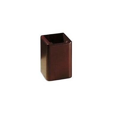 Eldon® Wood Tones™ Mahogany-Finish Pencil Holder