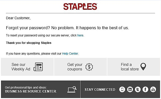 Help Center Answers To Your Customer Service Questions Staples