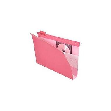 Pendaflex® Box-Bottom Colored Hanging Folders, Legal, Red, 2
