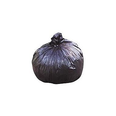 National Industries Trash Bag, 60 Gallon, 1.5 mil, Black, 38