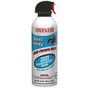 Maxell Canned Air , Nonflammable , 10 oz.