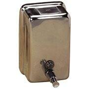 Soap Dispenser, Corrosion Resistant, Stainless Steel