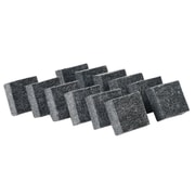 CLI Dry Erase Erasers, Gray, 12/Pack (74520)