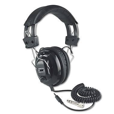Amplivox Deluxe Stereo Headphones w/Mono Volume Control