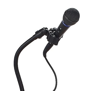 AmpliVox Sound Systems S2030A Wired Handheld Microphone Kit, Black