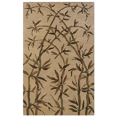 Powell® Bombay 5' x 8' Amble Hand Tufted Rug, Ivory