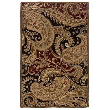Powell® Bombay 8' x 11' Paisley Hand Tufted Rug, Multicolor