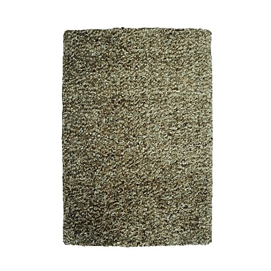 Powell® Bombay 5' x 7' Luxe Shag Hand Tufted Rug, Nori