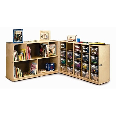 Whitney Brothers 20 Tray Fold and Roll Cabinet, 31