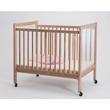 Whitney Brothers Infant Clear View With Evacuation Crib, Natural