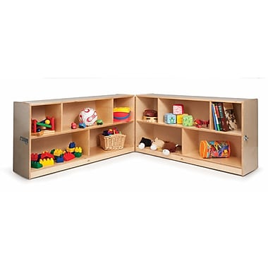 Whitney Brothers Tall Fold and Roll Storage Cabinet, 30