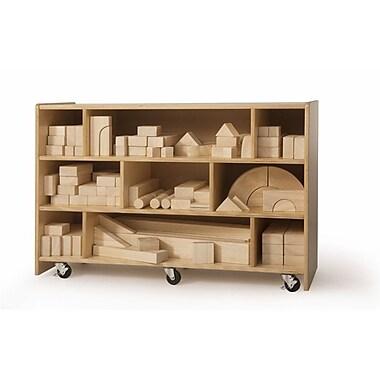 Whitney Brothers Medium Block Cabinet, 25